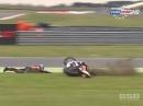 Snetterton British Supersport (BSS) 04/15 Sprint Race Highlights