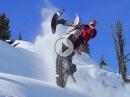 Snow Biking mit Ronnie Renner - Hammer Bilder