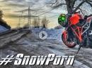 SnowPorn mit KTM 1290 Superduke R von KurvenradiusTV