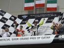 So sehen Sieger aus lalala - Podium Katar; Rossi, Dovizioso, Iannone