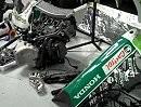 So sieht ein Honda von innen aus. Jonathan Reas Hannspree Ten Kate Honda CBR1000RR nach dem Crash