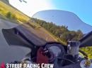 Sommerabend mit Kawasaki ZX10R & Honda CBR1000RR | Mr.X Street Racing Crew