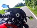Zügige Sonntagsrunde Obertrum Richtung Kaiserbuche mit Honda CBR929RR