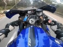 Sound on - Yamaha R1 Powerwheelie im Attacke-Modus