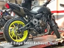 Soundcheck: Yamaha MT-07 Original vs. Mivv Speed Edge Steel Auspuffanlage