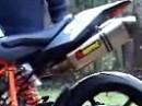 Soundchekc KTM Superduke mit Akrapovic Evolution Titan Komplettanlage
