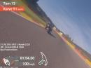 Spa Franchorchamps onboard, Suzuki GSX-R 1000 K6 - Geiles Video!