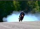 Speed Burnout - Bin nur kurz weg die Reifen einfahren ... Kurz und knackig