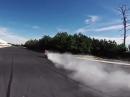 Speed Burnout - die geilste Art einen Reifen zu morcheln - Bäämm