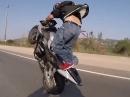 Speed Wheelie auf der Autobahn - nicht erwischen lassen