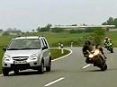 Speedfreaks im Visier der Polizei = Jagd auf Raser