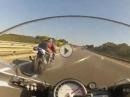 Speedjunkies: BMW S1000RR vs. Suzuki Hayabusa Glühköpfe