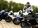 Speedtest: BMW S1000RR vs. Aprilia RSV4 vs. Suzuki Hayabusa vs. Kawasaki ZX-R1400