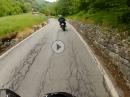 Speedy von Breno Richtung Passo Croce Domini, Italien