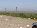 Rollsplitt zwischen Waddewarden und Sillenstede (Ostfriesland)