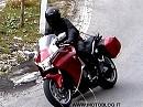 Sporttourer Honda VFR1200 2010 in den Alpen erwischt!
