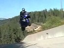 Spring R1 spring ... Megasprung einer Yamaha R1. Ob das Fahrwerk das auf die Dauer mitmacht?