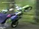 Crash - Motocross macht nur Sinn, wenn man´s kann und kein Baum die Flugbahn versperrt!