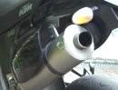 KTM 640 Supermoto mit SR Racing Auspuff