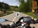 St. Margen nach St. Peter im Schwarzwald mit Aprilia Tuono V4