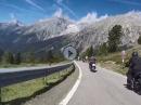 Staller Sattel, Abfahrt Italien Richtung Antholz, Kärnten 2020, BMW R1250 GS