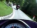 Staller Sattel - Passo Stalle - von Italien nach Österreich. Sehr eng aber wunderschön.