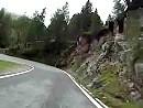 Staller Sattel, Südtirol, Abfahrt italienische Seite