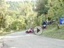Start Crash - ist der Reifen am Start kalt, hauts den Fahrer auf den Asphalt!