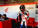 Stefan Bradl - erstes Rollout mit der Honda Fireblade WSBK