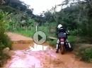 Steht ein Tourer am Wasserloch - ertrinken oder Umweg