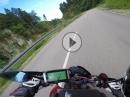 Steinatal im Schwarzwald mit Honda CB1000R