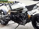 Stellan Egelands MC Harrier Custombike auf BMW Basis - ziemlich cool