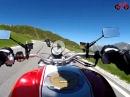 Sterzing rauf zum Jaufenpass mit Ducati Monster