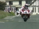 Steve Hislop (Norton F1) vs. Carl Fogarty (Yamaha OW-01) - One of the greatest TT Battle ever!!!