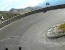 Stilfser Joch (Passo Stelvio) nach Trafoi, Italien mit XT1200Z