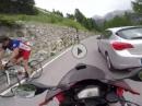 Stilfserjoch von Oben mit Honda CBR1000RR - geballert