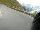Vom Stilfserjoch (Passo del Stèlvio, Italien) nach Trafoi KTM 990 SM
