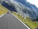 Stilfserjoch (Passo del Stelvio) Richtung Bormeo (Italien) - KTM 990 SM