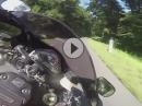 Stotzinger Berg Honda CBR1000RR zügig warmfahren