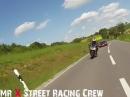 Straßenspaß: Audi R8, Kawasaki ZX10R, Honda CBR1000RR
