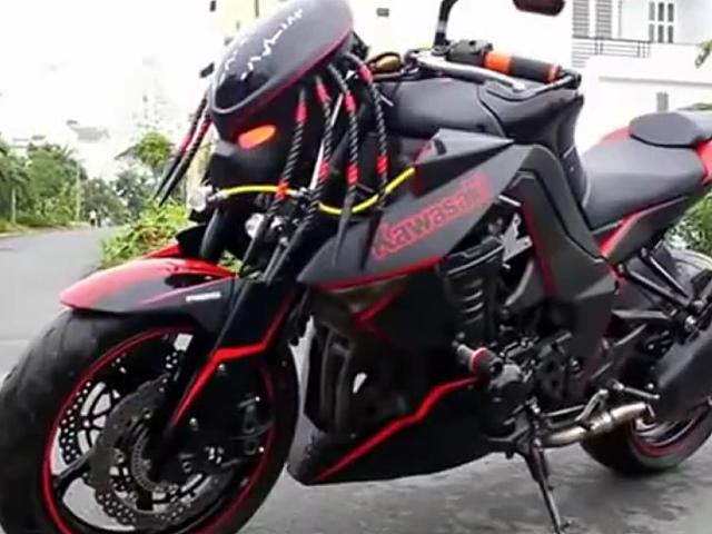 Streetfighter Kawasaki Z1000 - kann man so machen ...