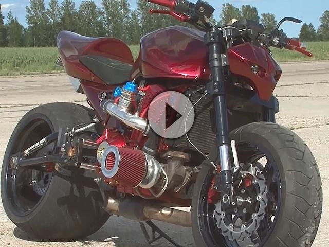 Streetfighter Kawasaki Z1000 Turbo