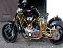 Streetfighter oder Chopper? Extrem cooler Umbau !