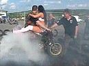 Streetfighter Rheinfront (SFR) - sexy Burnout auf der Hessen Bike Week