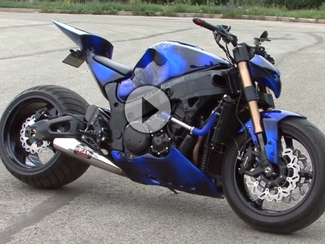 Stunt Suzuki Bandit