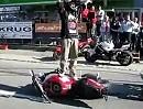 Stunt Show Motorrad Krug