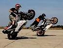 Motorradstunt: Stunt Weekend Ungarn Táborban Mezőkövesd - geil gemachtes Video geht mächtig vorwärts