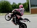 Stuntgirl Mai Lin Motorradtuning by Ulf Penner