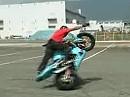 Stunting - perfekte Motorradbeherrschung