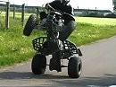 Stuntriding LTZ 400 - das kommt raus wenn man Langeweile hat!
